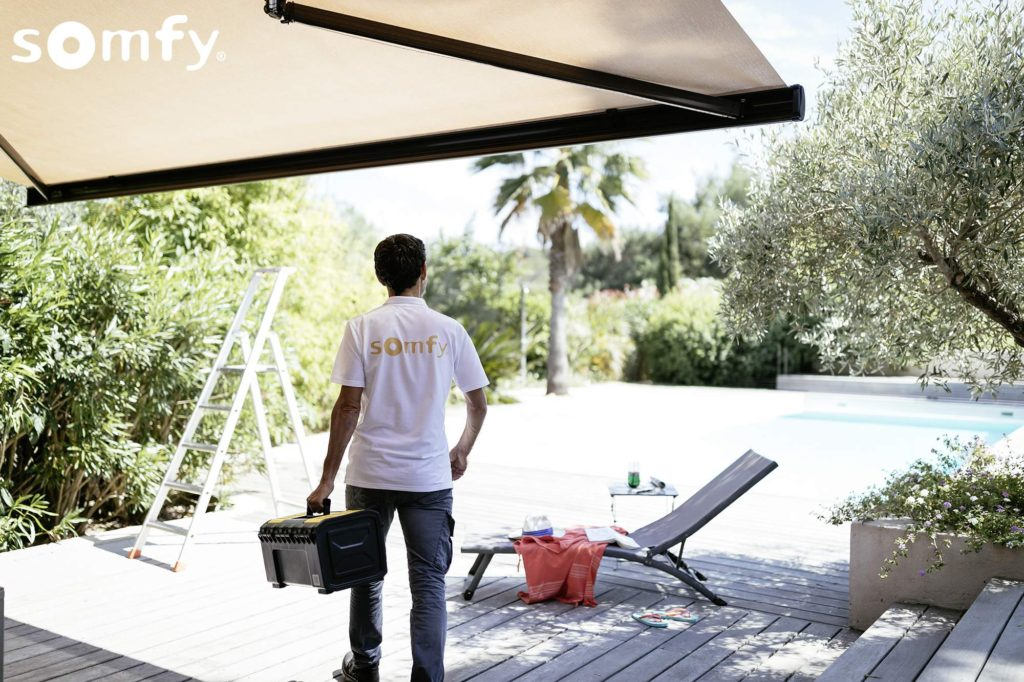 somfy instalace servis